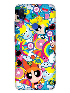 Girl Power Mobile Cover for Xiaomi Redmi 7