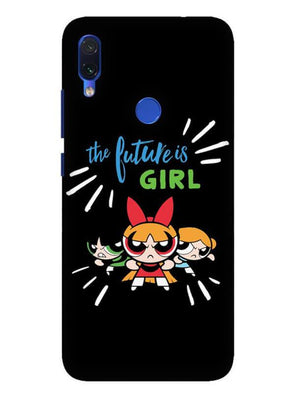 Future Is Girls Mobile Cover for Xiaomi Redmi 7
