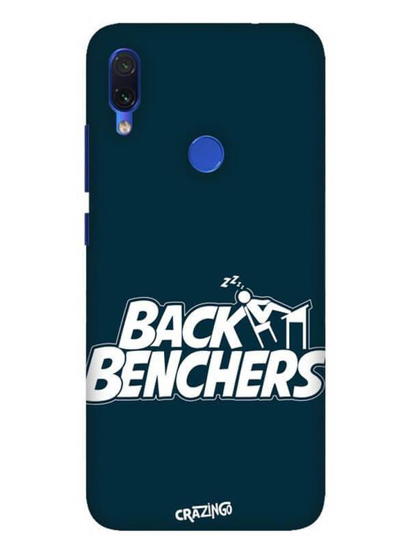 Back Benchers Mobile Cover for Xiaomi Redmi 7