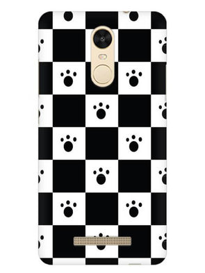 Paw Checkers Mobile Cover for Xiaomi Redmi Note 3