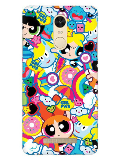 Girl Power Mobile Cover for Xiaomi Redmi Note 3