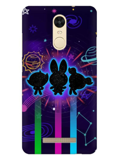 Glow Girls Mobile Cover for Xiaomi Redmi Note 3