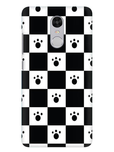 Paw Checkers Mobile Cover for Xiaomi Redmi Note 4