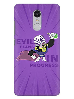 Evil Plan Mojojojo Mobile Cover for Xiaomi Redmi Note 4
