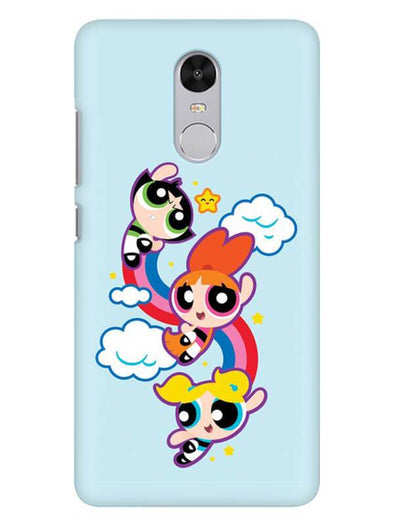 Girls Fun Mobile Cover for Xiaomi Redmi Note 4