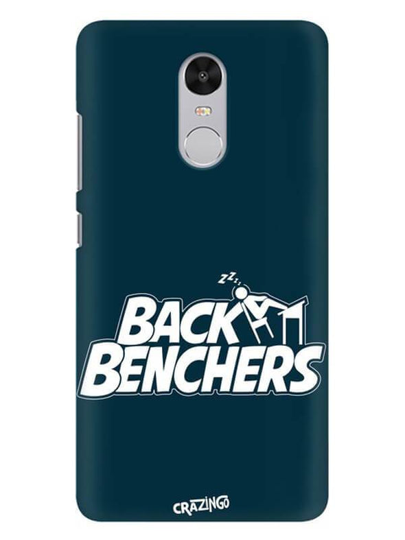 Back Benchers Mobile Cover for Xiaomi Redmi Note 4
