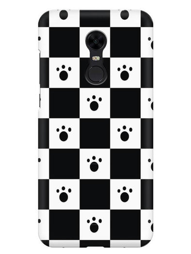Paw Checkers Mobile Cover for Xiaomi Redmi Note 5