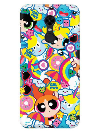 Girl Power Mobile Cover for Xiaomi Redmi Note 5