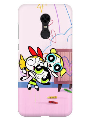 Powerpuff Girls Mobile Cover for Xiaomi Redmi Note 5