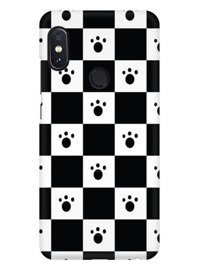 Paw Checkers Mobile Cover for Xiaomi Redmi Note 5 Pro