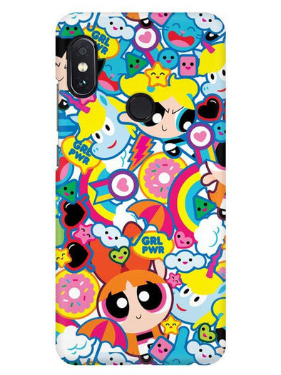Girl Power Mobile Cover for Xiaomi Redmi Note 5 Pro
