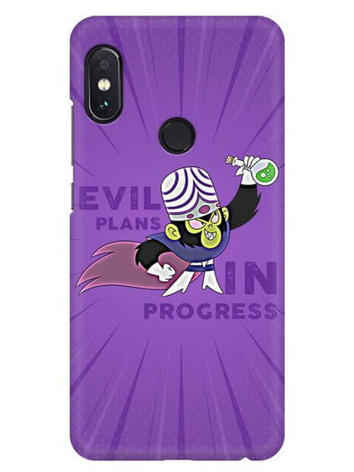 Evil Plan Mojojojo Mobile Cover for Xiaomi Redmi Note 5 Pro