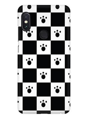 Paw Checkers Mobile Cover for Redmi Note 6 Pro