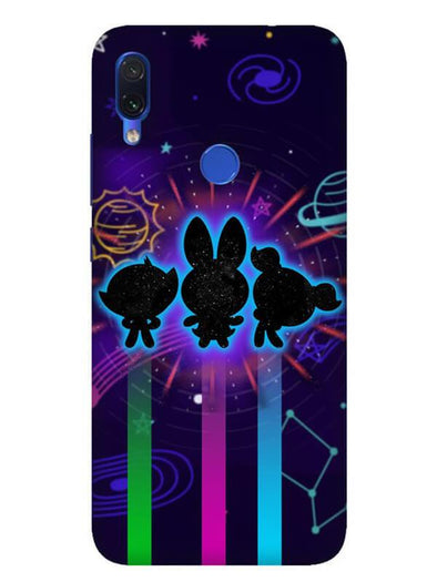 Glow Girls Mobile Cover for Xiaomi Redmi Note 7