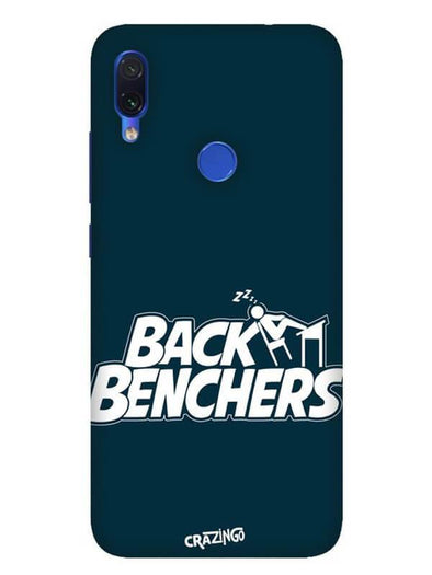 Back Benchers Mobile Cover for Xiaomi Redmi Note 7