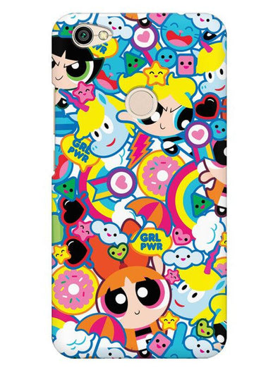 Girl Power Mobile Cover for Xiaomi Redmi Y1