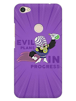 Evil Plan Mojojojo Mobile Cover for Xiaomi Redmi Y1