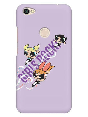 Girls Rocks Mobile Cover for Xiaomi Redmi Y1