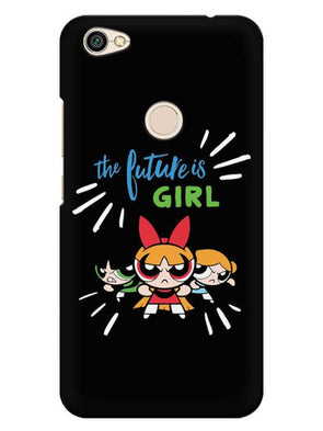 Future Is Girls Mobile Cover for Xiaomi Redmi Y1