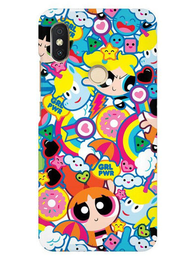 Girl Power Mobile Cover for Xiaomi Redmi Y2