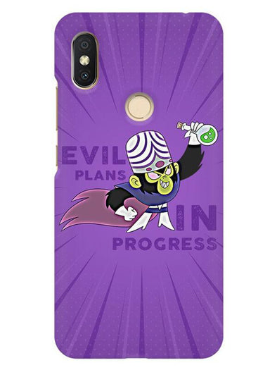 Evil Plan Mojojojo Mobile Cover for Xiaomi Redmi Y2