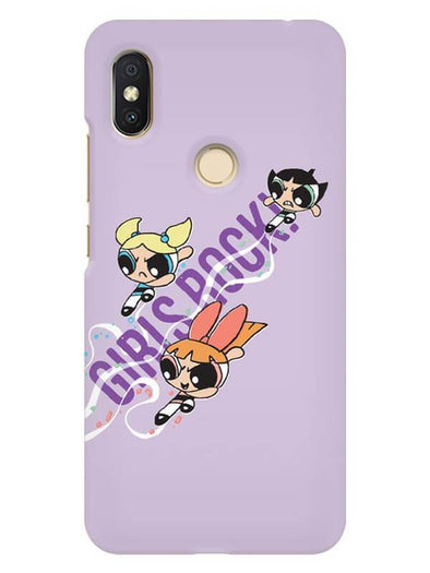 Girls Rocks Mobile Cover for Xiaomi Redmi Y2