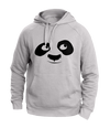 Look Up Panda White Hoodies