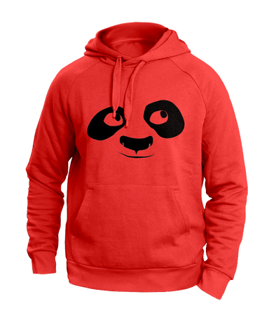 Look Up Panda Hoodies