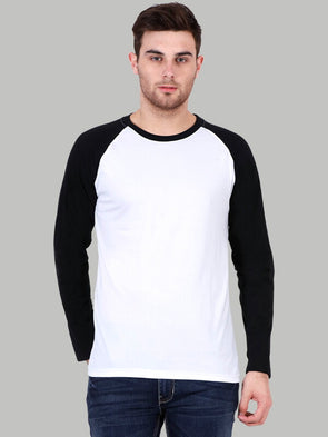 Plain White Raglan T-Shirt