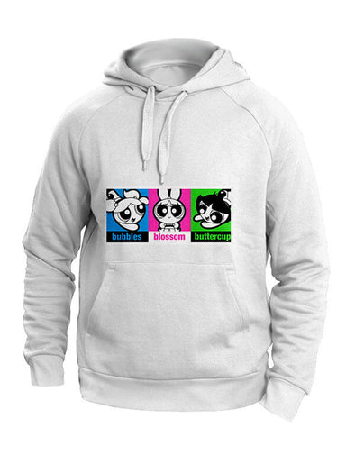 Powerpuff Girls: All Together Black Hoodie