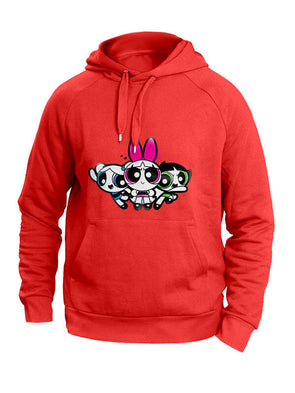 Powerpuff Girls: All Together Red Hoodie