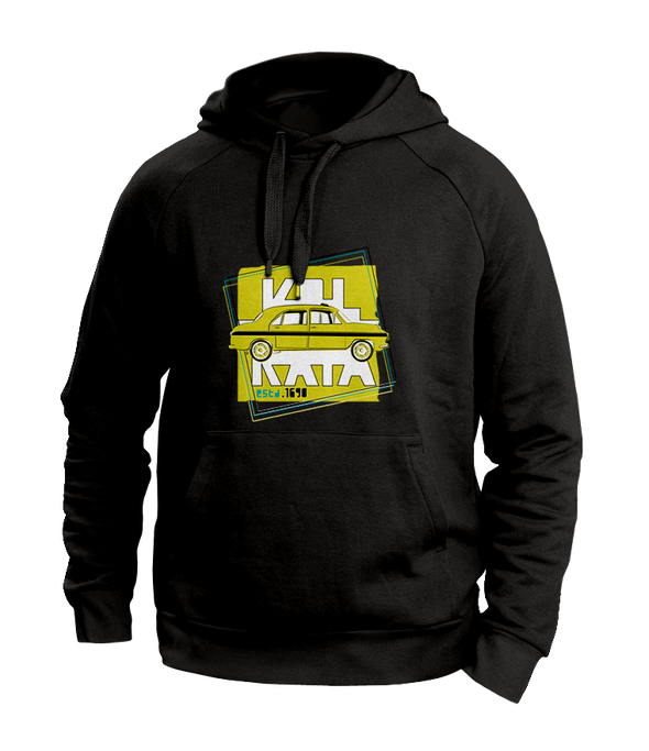 Taxi Kolkata Black Hoodies