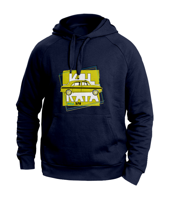 Taxi Kolkata Blue Hoodies