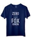 Zero Fox Given Blue T-Shirts
