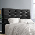 Artiss BENO Queen Size Bed Head Headboard Bedhead Leather Base Frame
