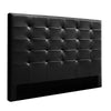 King Size Bed Headboard Bed Frame Head Bedhead Leather Frame Base BENO