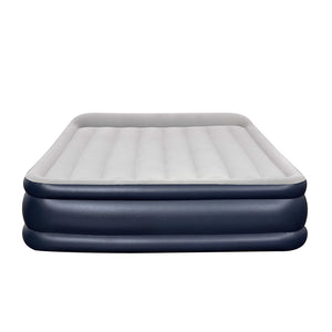 Bestway Queen Air Bed Inflatable Mattress Sleeping Mat Battery Built-in Pump