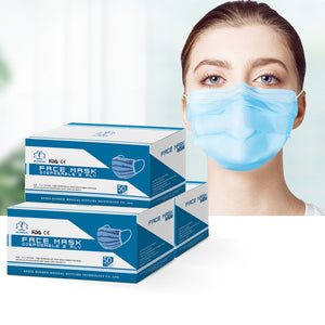 Disposable Face Mask Anti Flu Dust Masks Anti PM2.5 3-Layer Protective 150PCS AU Stock