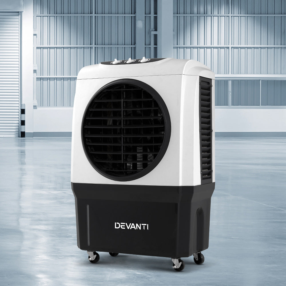 Evaporative Air Cooler Industrial Commercial Portable Water Fan Workshop