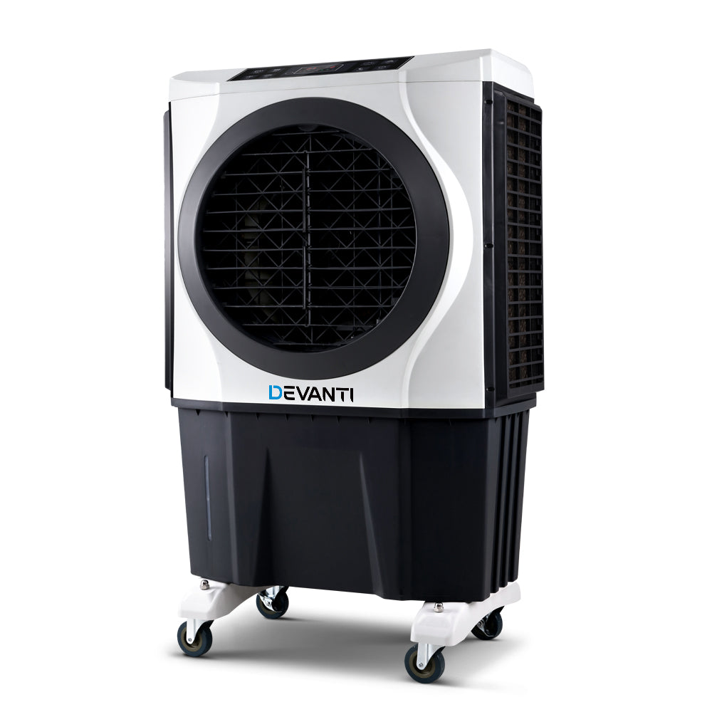 Evaporative Air Cooler Industrial Commercial Fan Conditioner Purifier with Remote