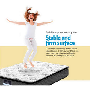 Giselle Bedding Double Size Pillow Top Foam Mattress