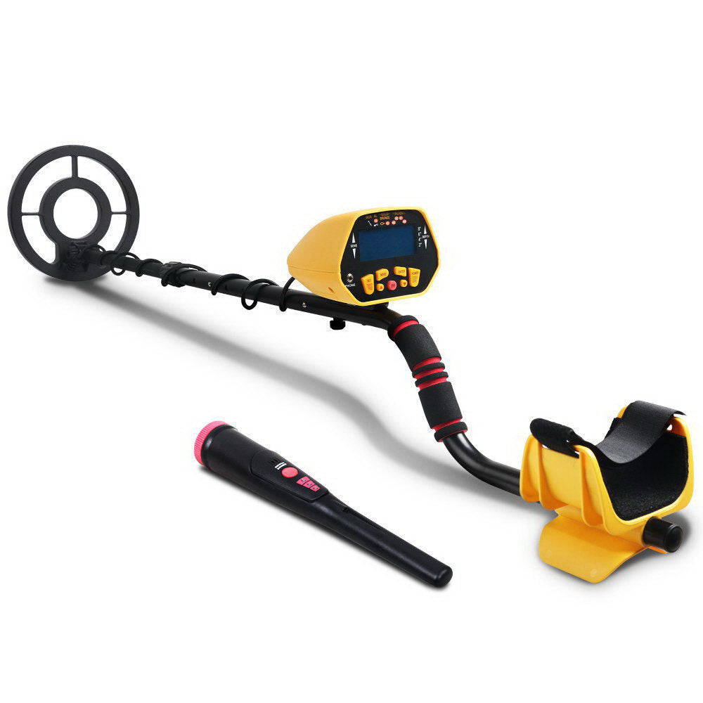 Metal Detector Pinpointer Deep Sensitive Searching Treasure Gold Hunt Digger 180MM