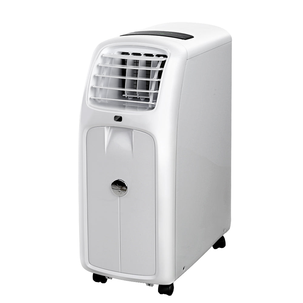 Devanti Portable Air Conditioner Cooling Mobile Fan Cooler Remote Window Kit White 2050W