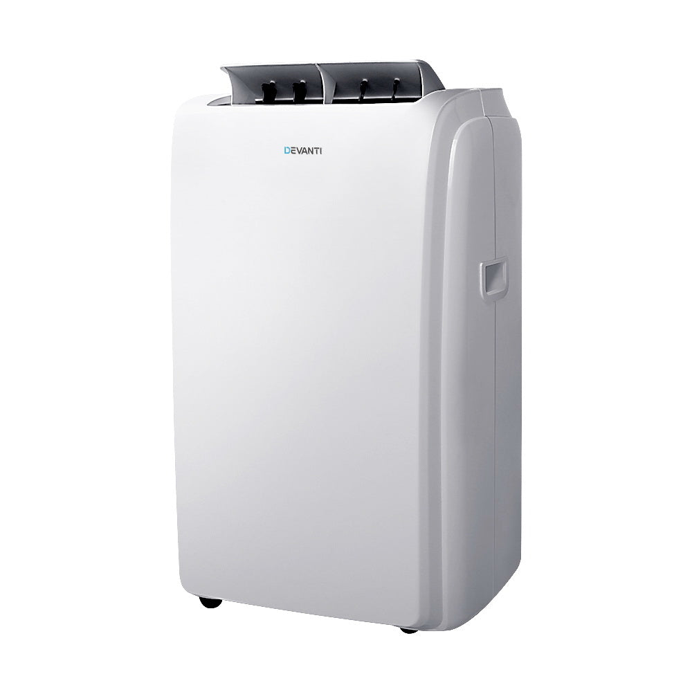 Portable Air Conditioner Cooling Mobile Fan Cooler Remote Window Kit White 3300W