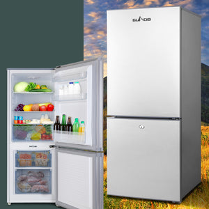 Glacio 168L Portable Bar Fridge Freezer Fridges Cooler 12V/24V/240V Caravan Camp
