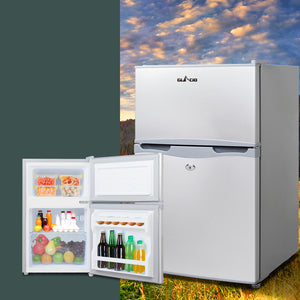 Glacio 65L Portable Bar Fridge Freezer Fridges Cooler 12V/24V/240V Caravan Camp