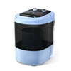 Devanti 3KG Mini Portable Washing Machine Shoes Wash Top Load Spin Camp Caravan