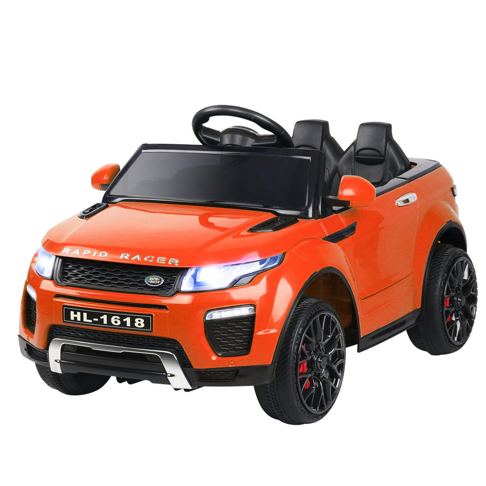 Rigo Kids Ride On Car Electric 12V Toys Orange