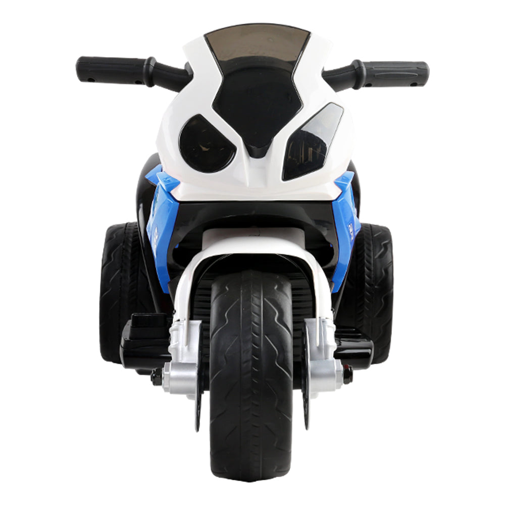 Kids Ride On Motorbike BMW Licensed S1000RR Motorcycle Car Blue