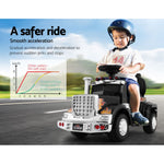 Ride On Cars Kids Electric Toys Car Battery Truck Childrens Motorbike Toy Rigo Black